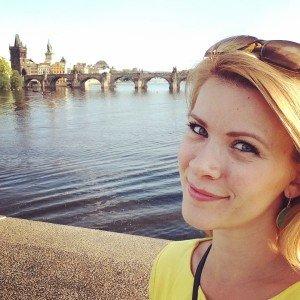 Julie in Prague